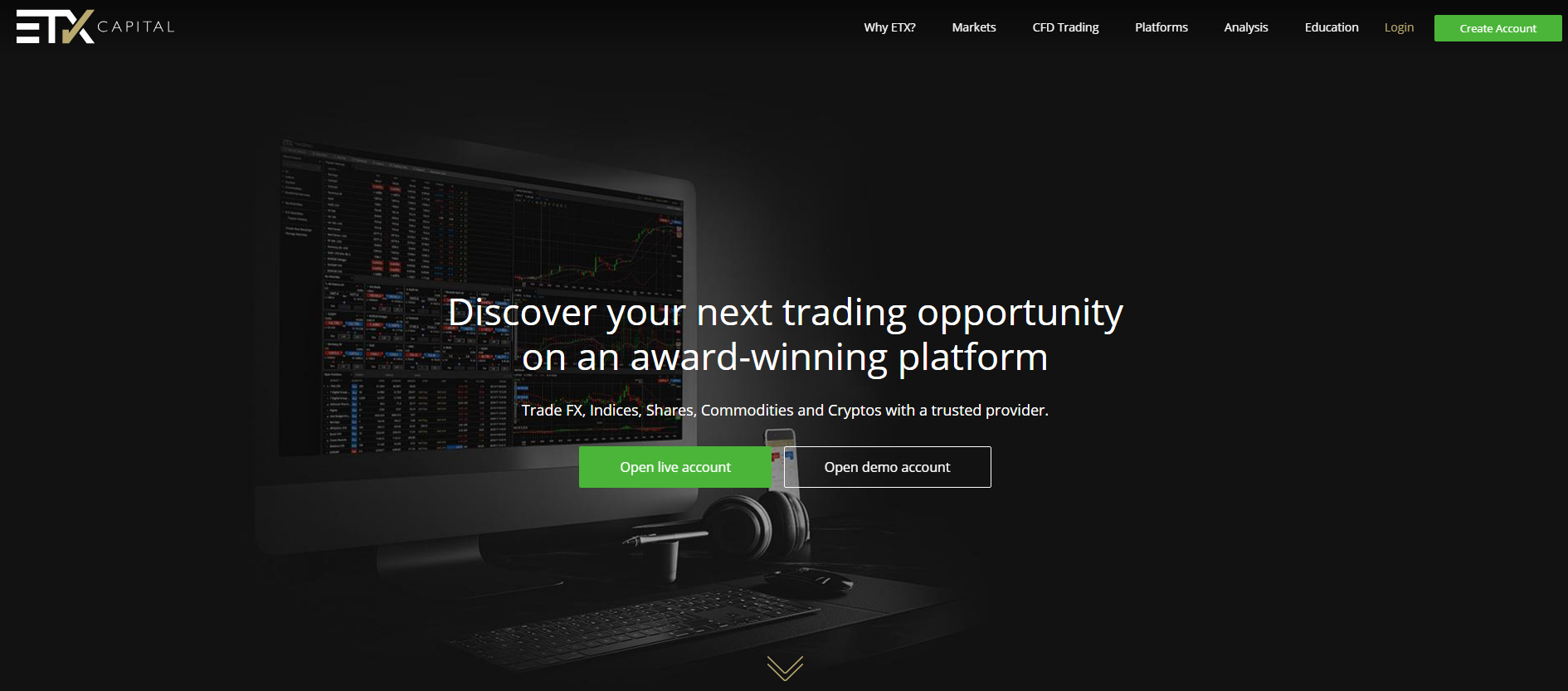 Etx capital forex