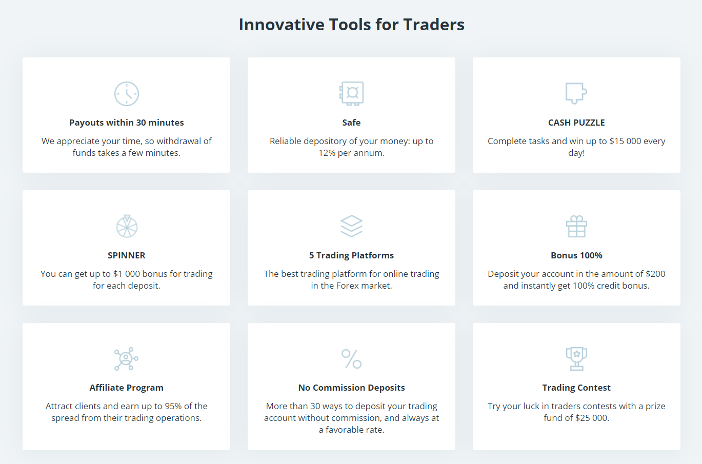 weltrade trading tools
