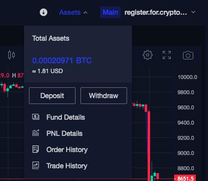 phemex trading assets